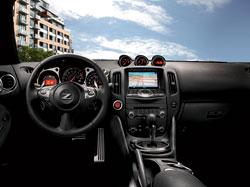 2012 Nissan 370z interior