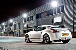 2011 nissan GT edition coupe UK
