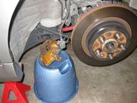 Install Akebono Big Brake Kit on 370z or 350z